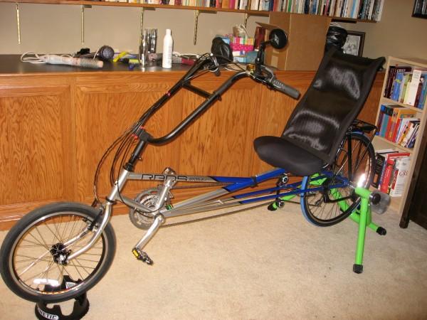 Bike prepped for winter
