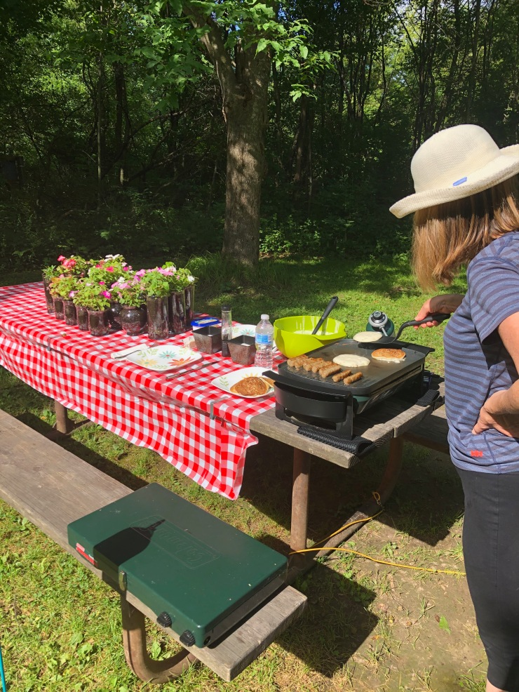 Forestville cooking long view