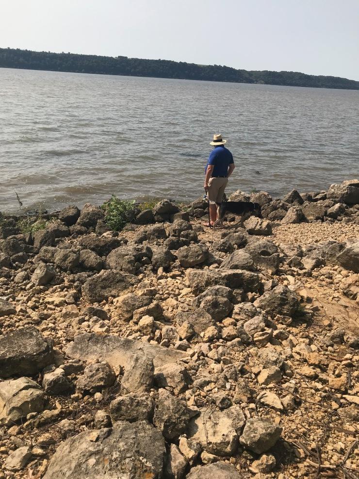 Mississippi RIver - Grant River shoreline